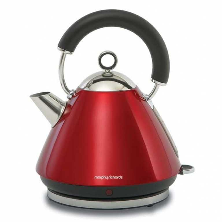 Morphy richards ACCENTS RED 102004 CZERWONO-SREBRNY Czajnik