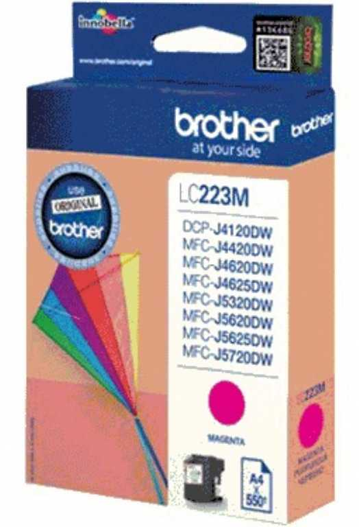 Brother LC-223M MAGENTA Tusz