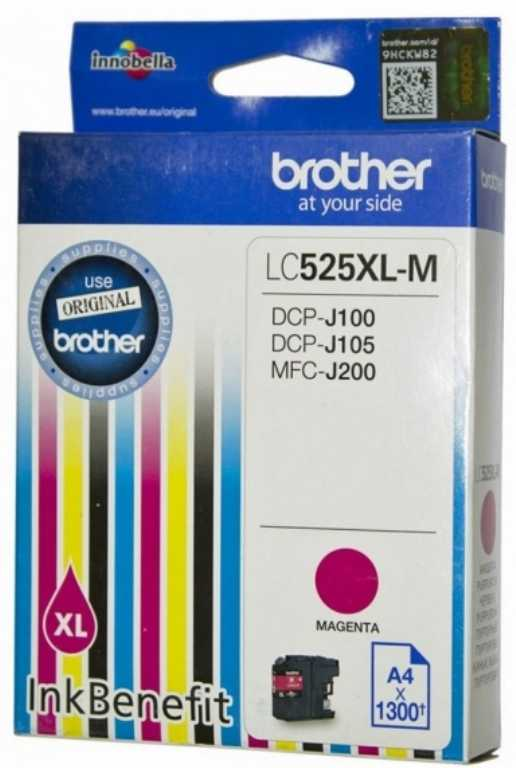 Brother LC-525XLM Tusz