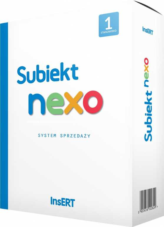 Insert SUBIEKT NEXO Program
