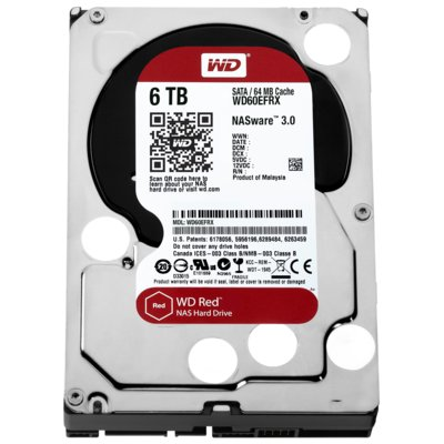 Dysk HDD WD Red 6 TB WD60EFRX
