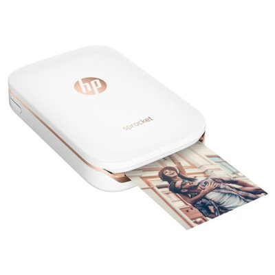 Drukarka fotograficzna HP Sprocket Photo Printer Biały Z3Z91A