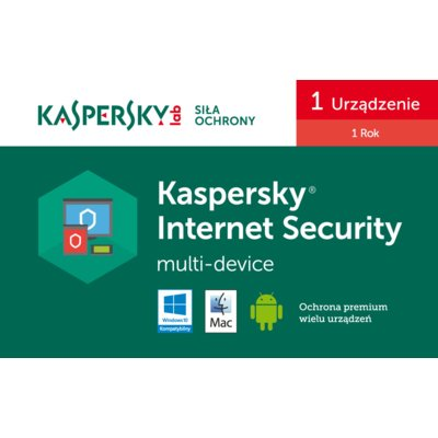 Program KASPERSKY Internet Security Multi-Device (1 PC, 1 rok)