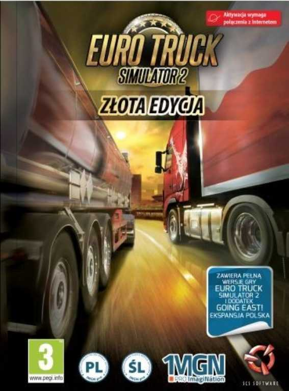 Cdp.pl PC EURO TRUCK SIMULATOR 2 + GO EAST Gra PC