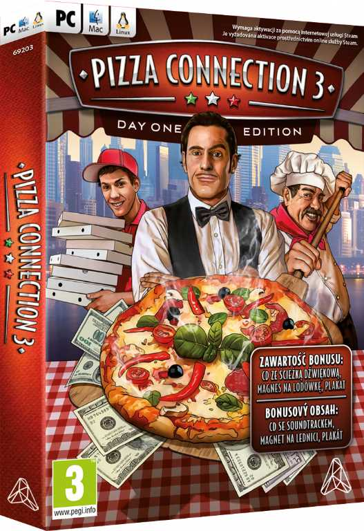 Cdp.pl Pizza Connection 3 Gra PC