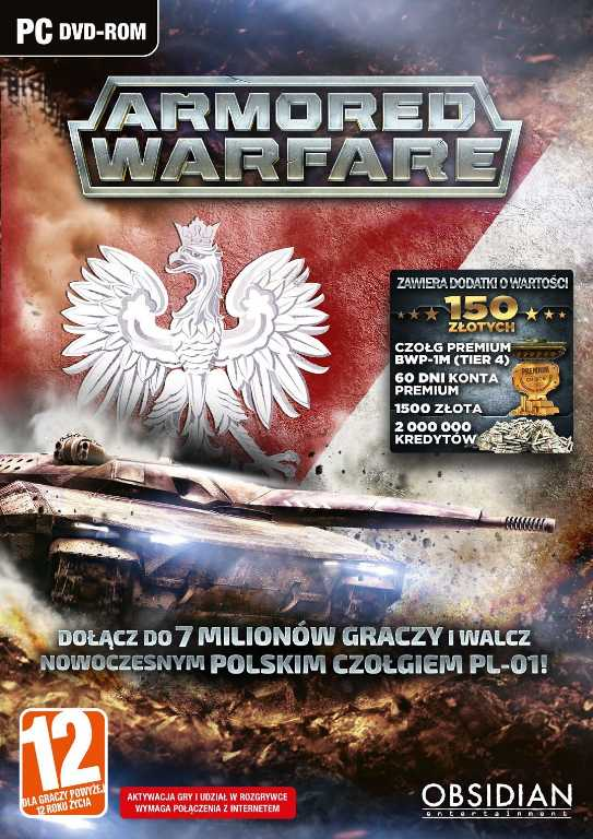 Cenega Armored Warfare Gra PC