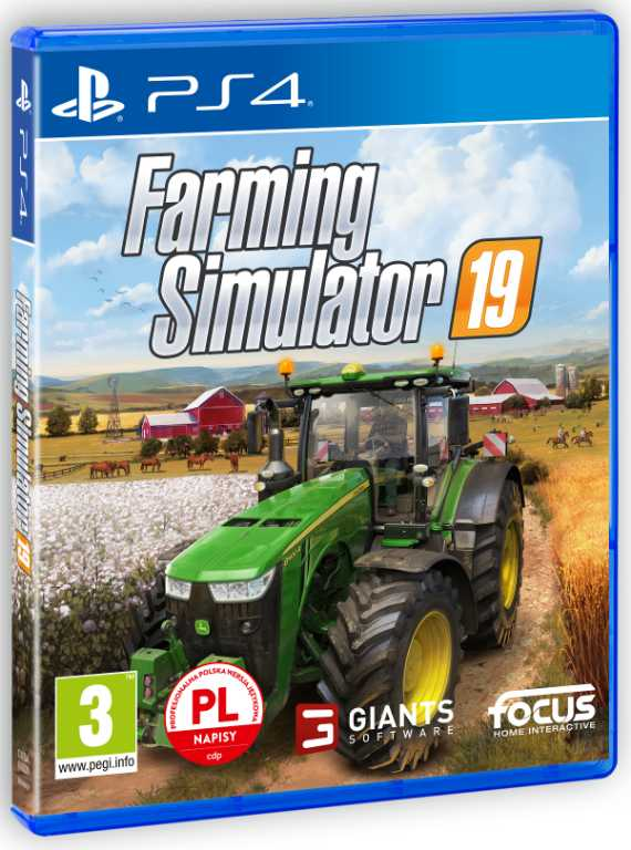 Cdp.pl Farming Simulator 19 Gra PS4