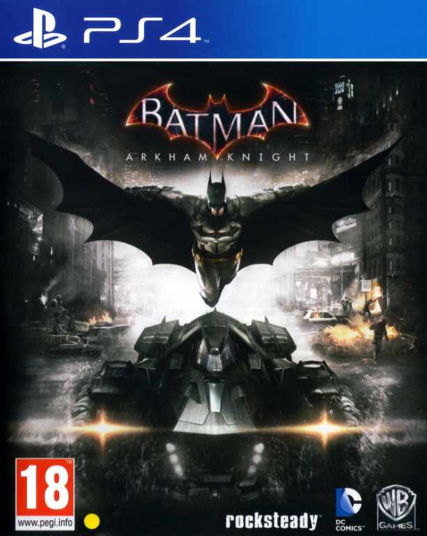 Cenega BATMAN ARKHAM KNIGHT Gra PS4