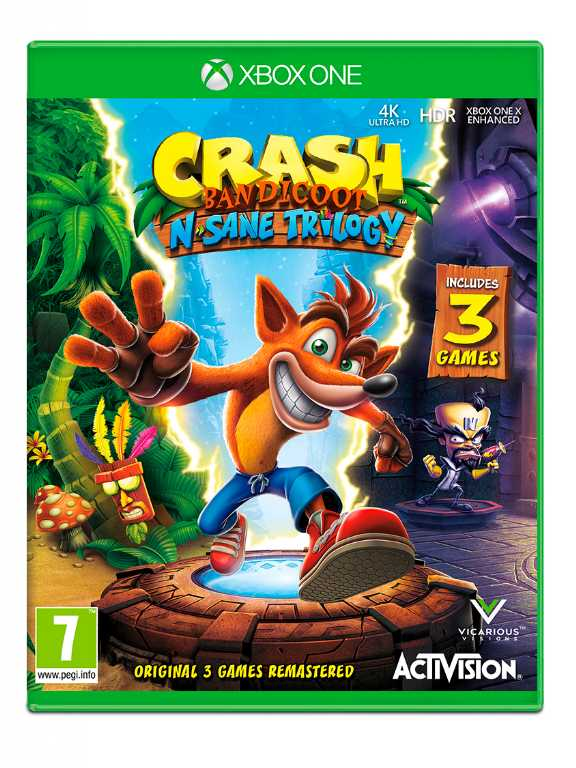 Cenega Crash Bandicoot N. Sane Trilogy Gra Xbox One