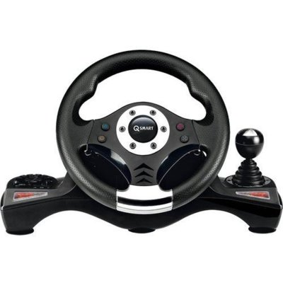 Kierownica Q-SMART Suzuka Pro SW6060 4 w 1 do PC/PS4/PS3/Xbox One