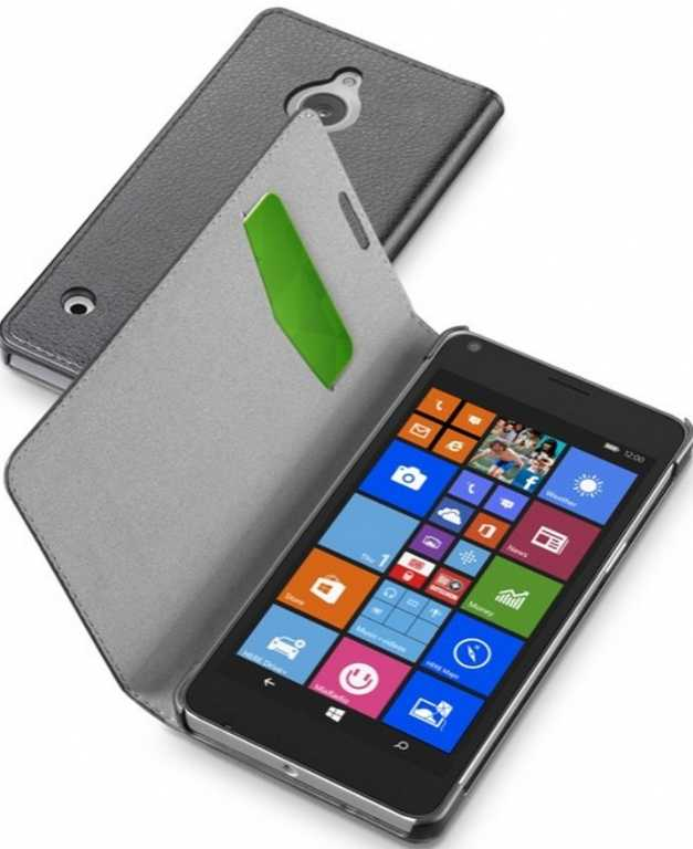 Cellular line Book Essential do Microsoft Lumia 850 Czarny Etui