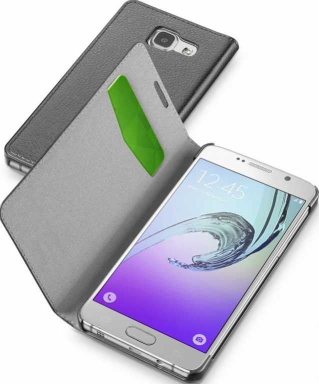 Cellular line Book Essential do Samsung Galaxy A3 Czarny Etui