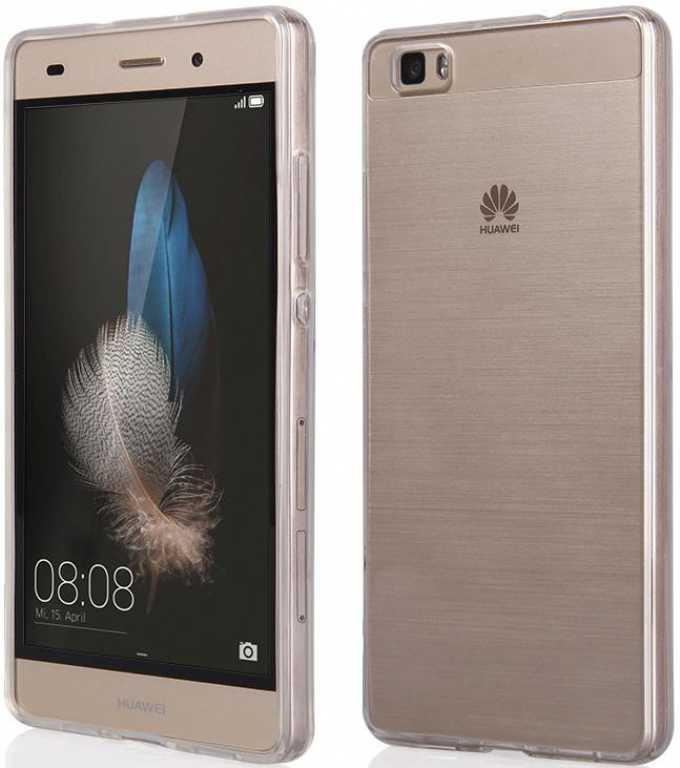 Qult Back Case Clear do Huawei P8 Lite Etui