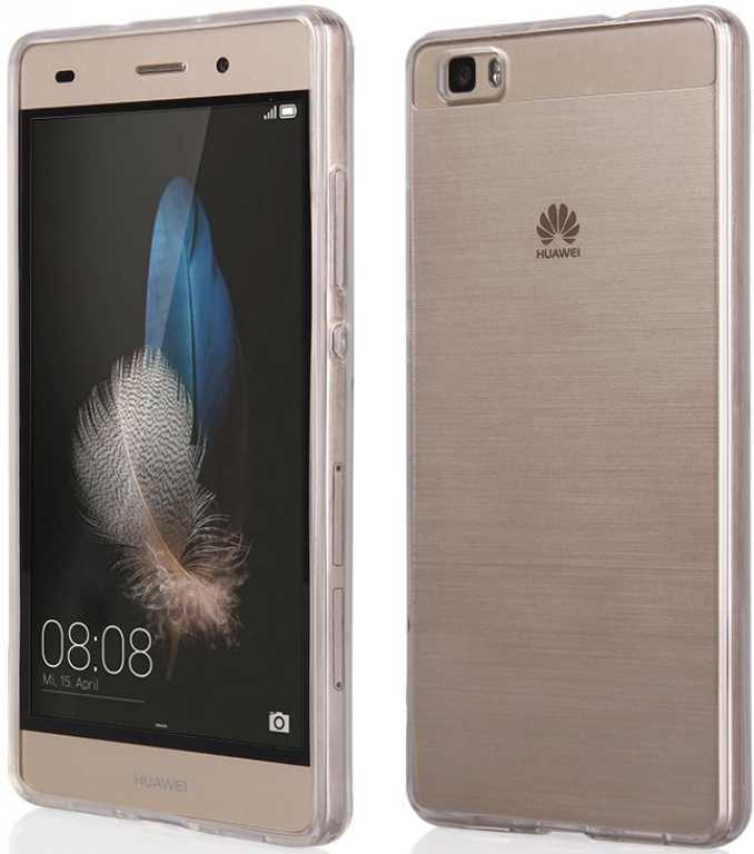Qult Back Case Clear do Huawei P8 Lite Luxury Etui
