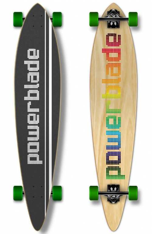 Pb LONGBOARD COLORFULL