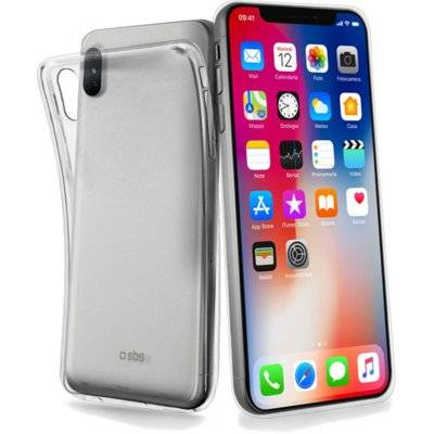 Etu SBS Skinny Cover do smartfona Apple iPhone X Przezroczysty TESKINIPXT
