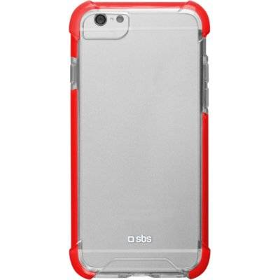 Etui SBS Hard Shock Cover do smartfona Apple iPhone 8/7 Czerwony TECOVERSHOCKIP7T