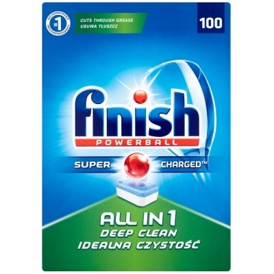Tabletki FINISH All in 1 Regular 100 szt.