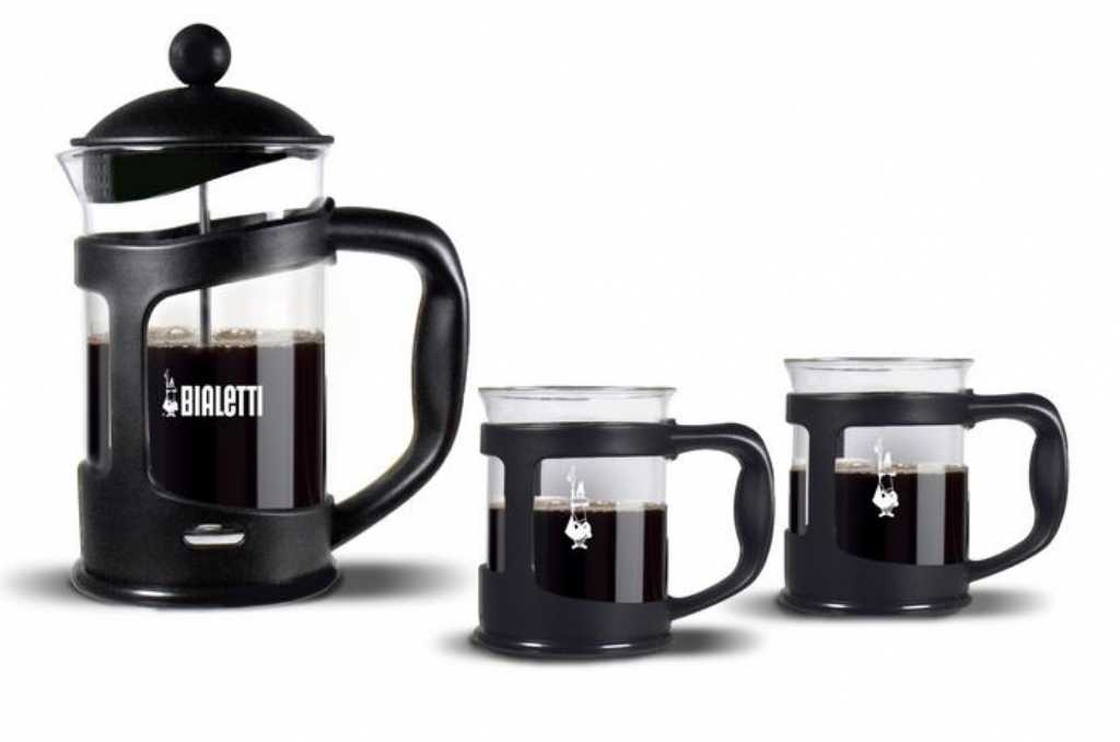 Bialetti Coffee Press Czarny