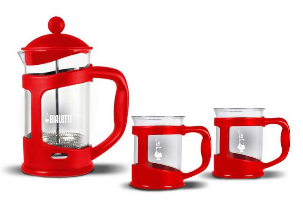 Bialetti Coffee Press Czerwony