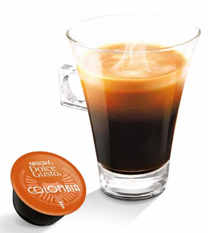 Dolce gusto Lungo Colombia Kawa