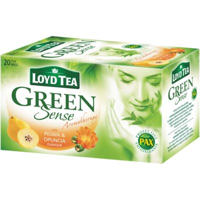 Herbata LOYD TEA Green Sense Pigwa And Opuncia 20x1.7 g