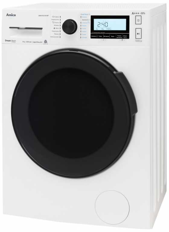 Amica DAW8123DCIBT Steam Touch Pralka