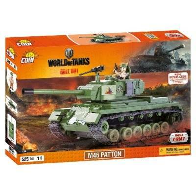 Klocki COBI Mała Armia World of tanks M46 Patton 3008