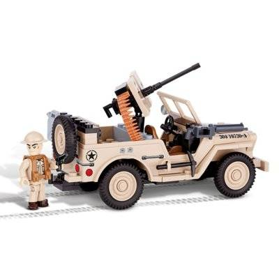 Klocki COBI Small Army, Jeep Willys MB North Africa 1943