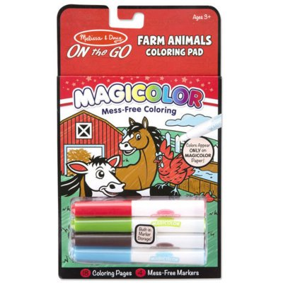 Kolorowanka MELISSA & DOUG Coloring Pad - Farm Animals 19126
