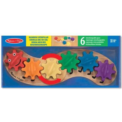 Zabawki MELISSA & DOUG Caterpillar Gear Toy 13084
