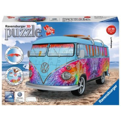 Puzzle 3D RAVENSBURGER 125272 Volkswagen Bus T1 Indian Summer