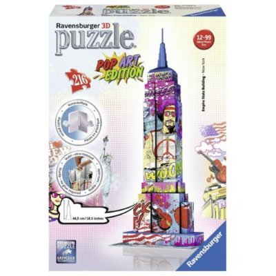 RAVENSBURGER Puzzle 3D Empire State Building Pop