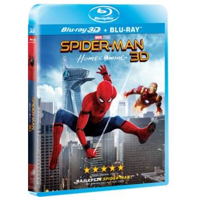 Spider-Man: Homecoming 3D (2BD)
