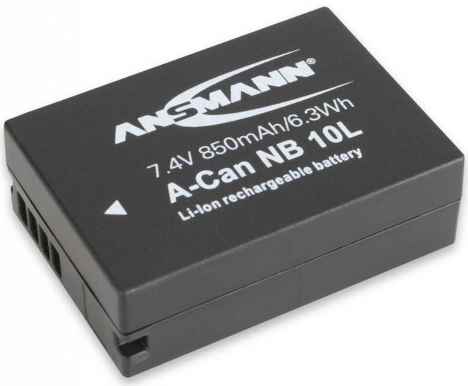 Ansmann Do Canon A-Can NB 10L (850 mAh) Bateria