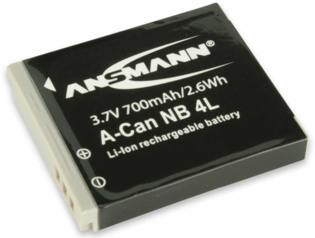 Ansmann Do Canon A-Can NB 4L (700 mAh) Bateria