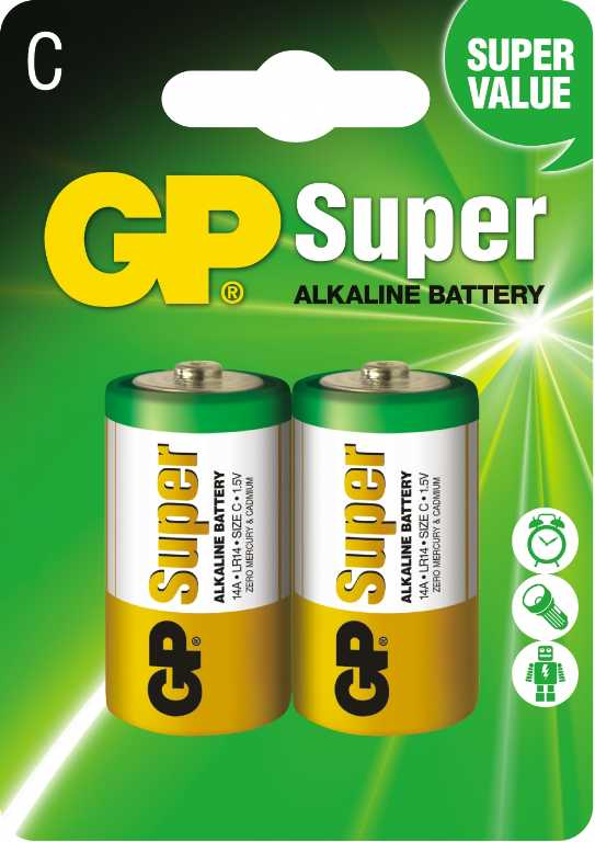Gp battery 14A-2UE2 (2 szt.) Bateria