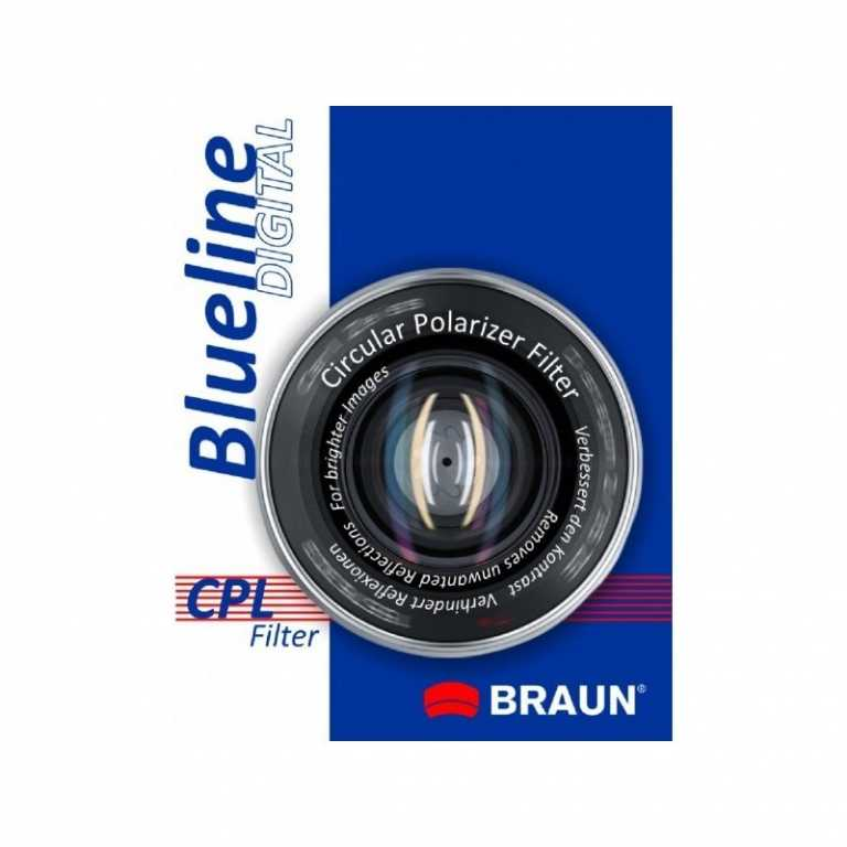 Braun phototechnik CPL BLUELINE (58 MM)