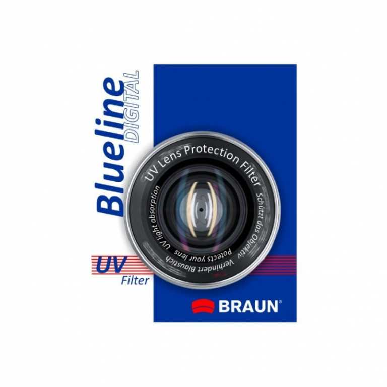 Braun phototechnik UV BLUELINE (52 MM)