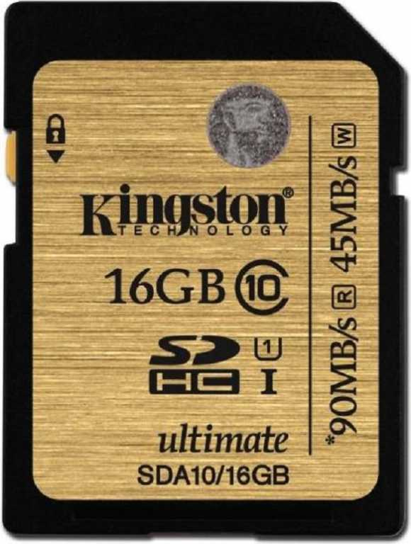Kingston Canvas Select 80R CL10 UHS-I SDHC 16GB Karta pamięci