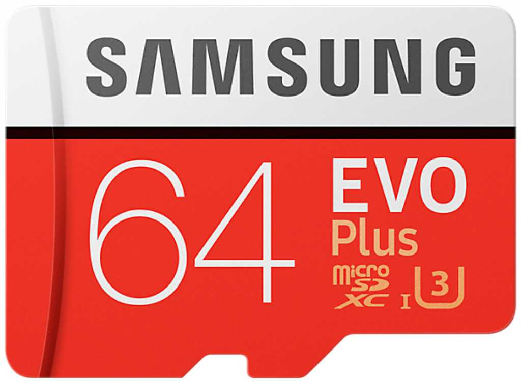 Samsung Micro SDXC EVO Plus 64GB + SD adapter Karta pamięci