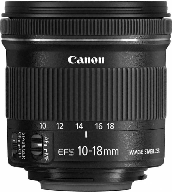 Canon EF-S 10-18MM 4.5-5.6 IS STM 9519B005AA Obiektyw