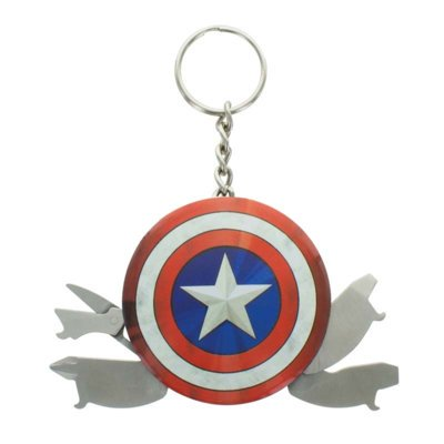 Brelok GOOD LOOT Marvel Avengers Captain America Multi Tool