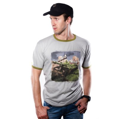 Koszulka GOOD LOOT World of Tanks Comics Tank T-Shirt - rozmiar S