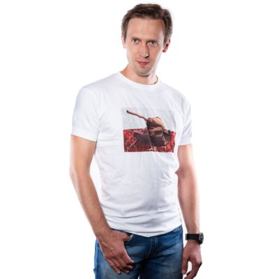 Koszulka GOOD LOOT World of Tanks PL Tank T-Shirt - rozmiar S