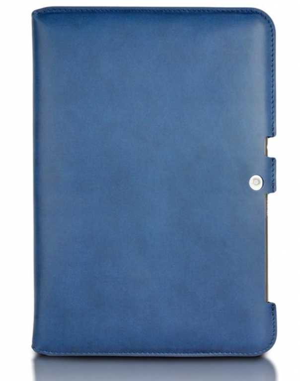 4world 4-Fold Slim do Galaxy Tab 2 10.1 cali Granatowy (09095) Etui