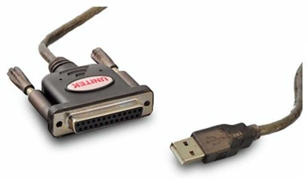 Unitek Y-121 USB- 1x Parallel