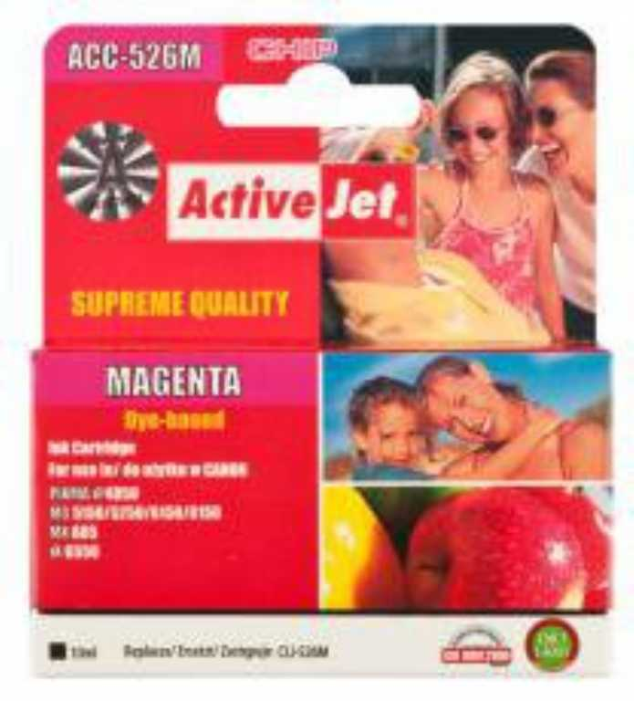 Activejet ACC-526M Magenta Tusz