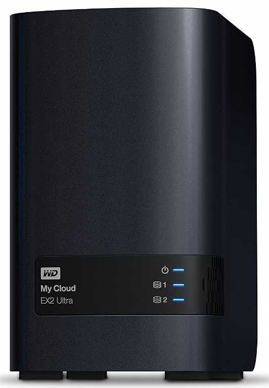 Western digital My Cloud EX2 Ultra 0TB (WDBVBZ0000NCH-EESN)