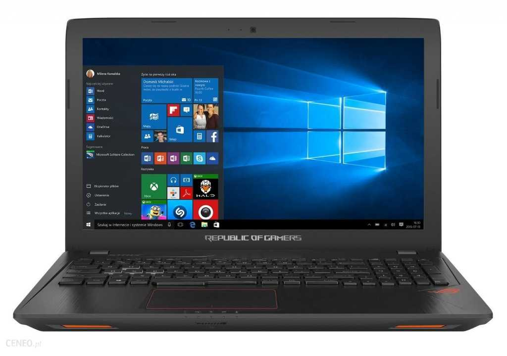 Asus Strix GL703GE-GC087T Laptop